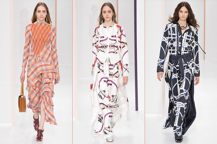 Tendenze moda estate 2018 - Hermès: 3 modelli della collezione Primavera Estate 2018