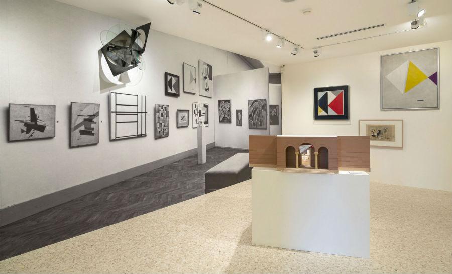 Gli spazi espositivi della Project Rooms della Collezione Peggy Guggenheim a Palazzo Venier dei Leoni di Venezia,