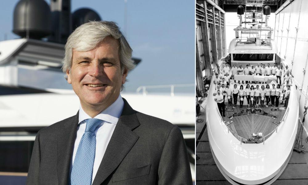 Baglietto 48m T-Line: Michele Gavino, CEO Baglietto e il Team Baglietto