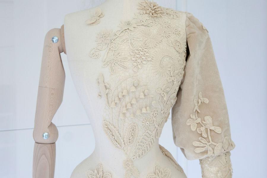 Fondazione Cini - Venezia - Homo Faber: Installazione Fashion Inside and Out ©Judith Clark_Rosie Taylor Davies