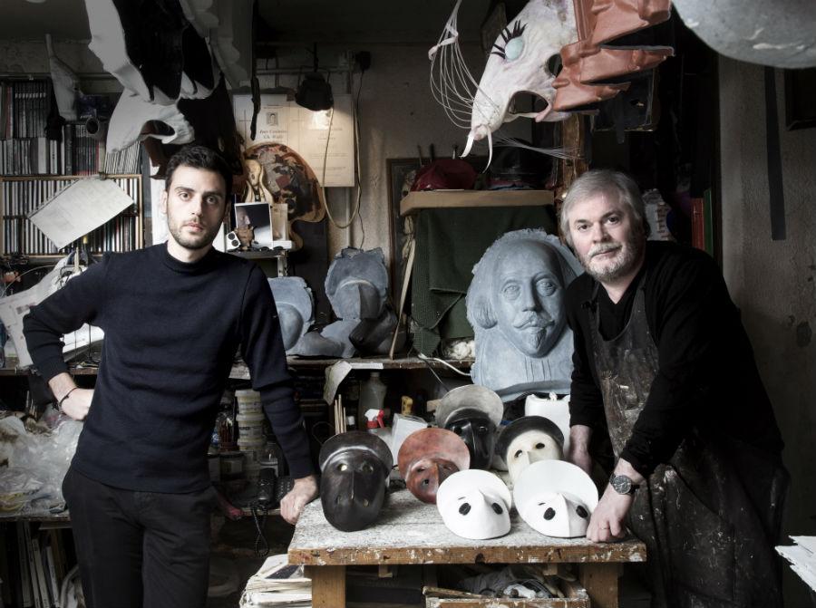 Fondazione Cini - Venezia - Homo Faber: Philippe Tabet and Sergio Boldrin della Bottega dei Mascareri