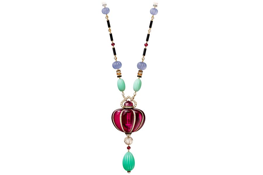 gioielli cartier Collana della collezione Coloratura de Cartier