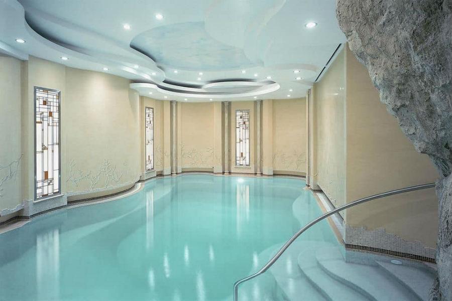 Grand Hotel Vesuvio Napoli: piscina interna