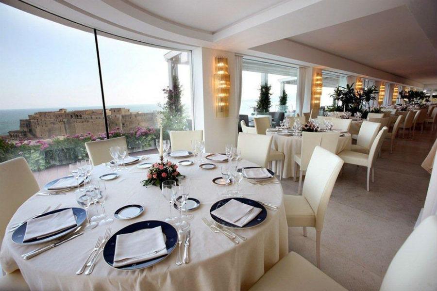Grand Hotel Vesuvio Napoli: sala ristorante