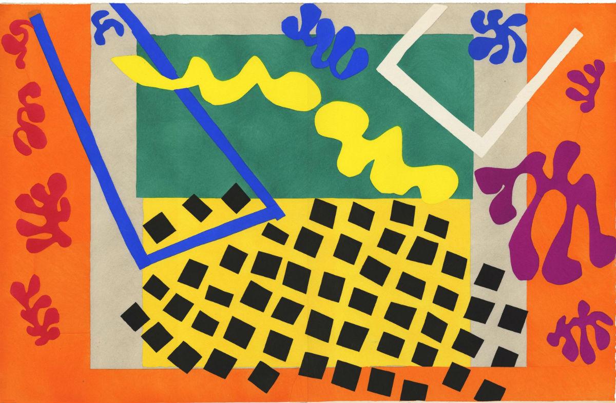 Uno dei dipinti della mostra Henri Matisse, sulla scena dell'arte