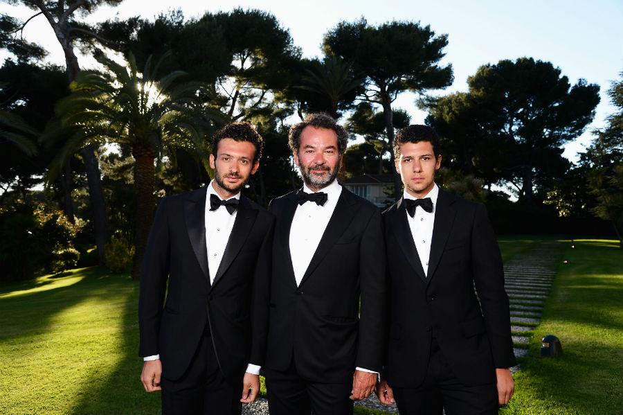 Moncler Genius: Remo Ruffini con i figli Pietro e Romeo