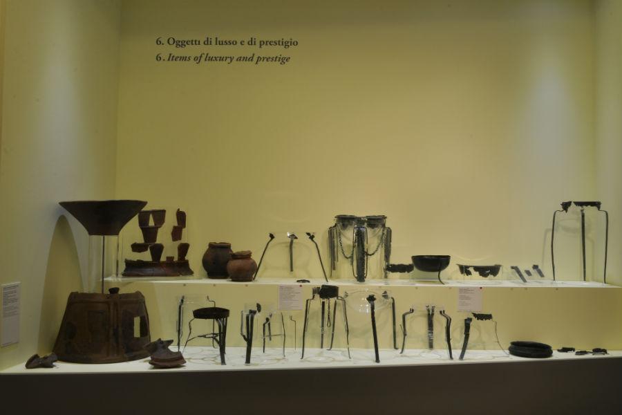 La Roma dei Re in mostra nei Musei Capitolini: Oggetti di lusso