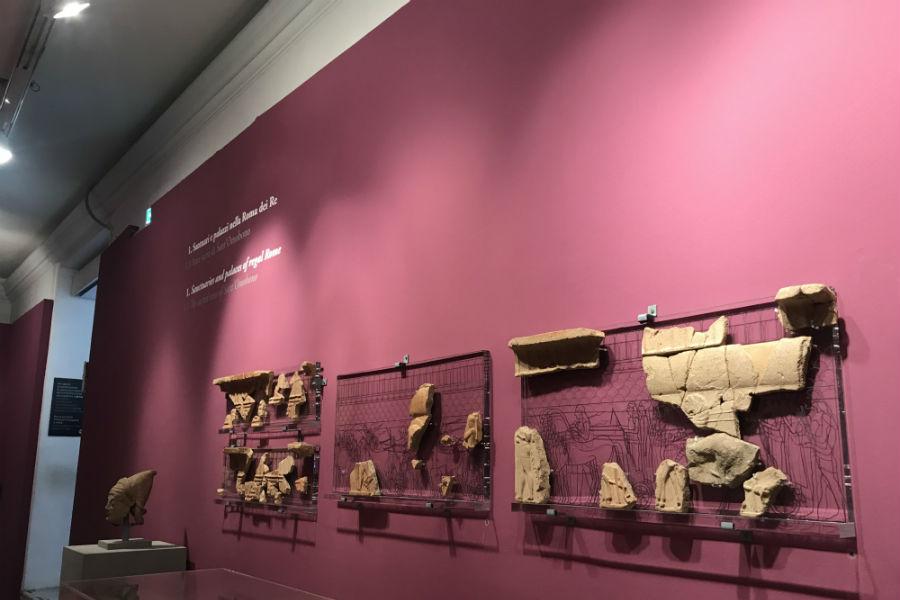 La Roma dei Re in mostra nei Musei Capitolini: Porzioni di antiche decorazioni pertinenti a luoghi di culto