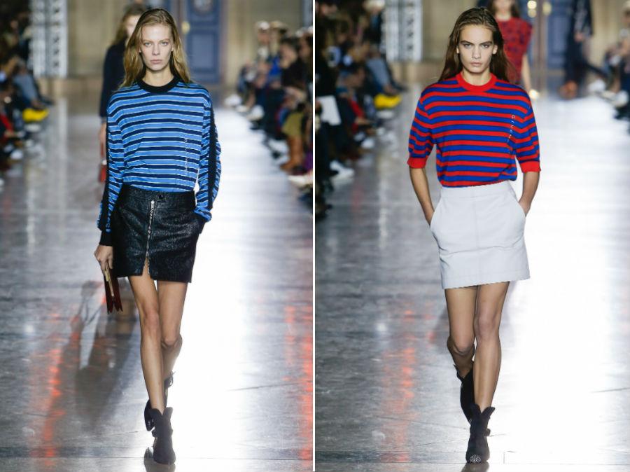 Stile marinaro: 2 modelli della collezione SS 2018 Givenchy