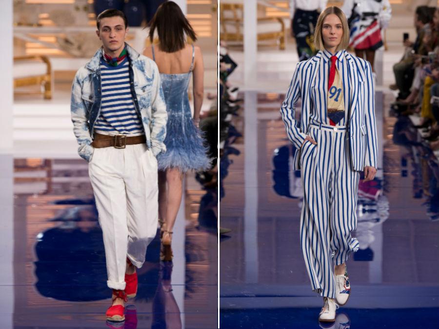 Stile marinaro: 2 modelli della collezione SS 2018 Ralph Lauren