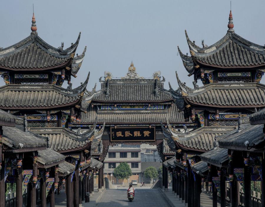 Strutture storiche nella città di Chengdu