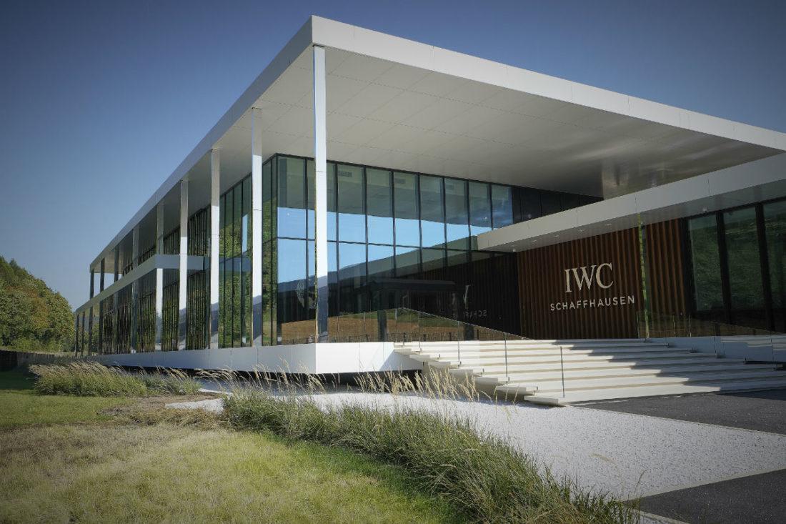 Schaffhausen - la nuova manifattura Iwc: nell'immagine l'ingresso ®Marco Scarpa
