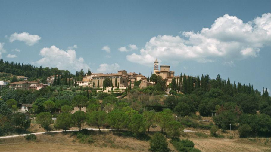 Il Borgo di Solomeo dove sorge l'azienda di Brunello Cucinelli