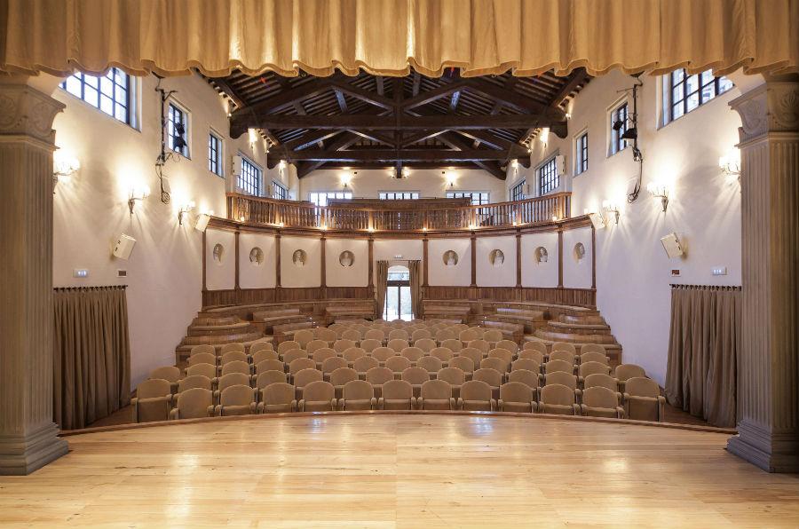 Brunello Cucinelli - Nell'immagine il teatro di Solomeo