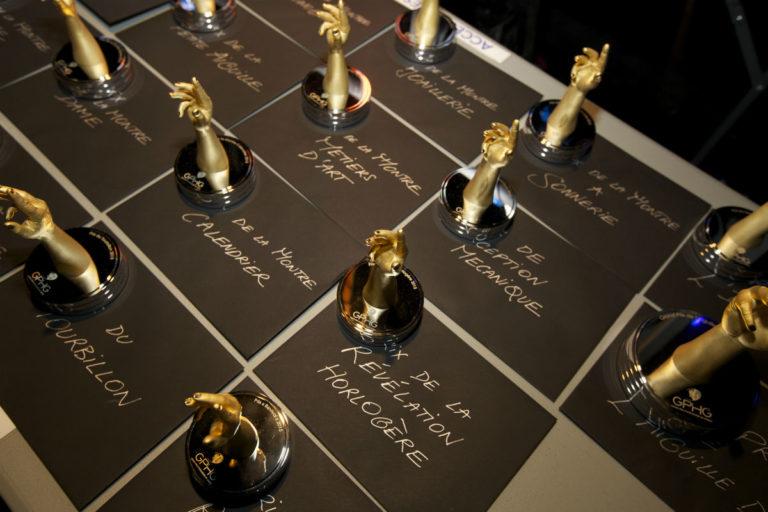 GPHG 2018 – statuette premio del Grand Prix d'Horlogerie de Genève