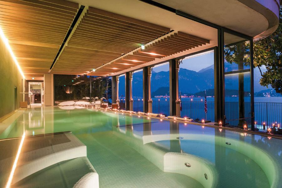 Il Grand Hotel Tremezzo sul Lago di Como: piscina della Spa