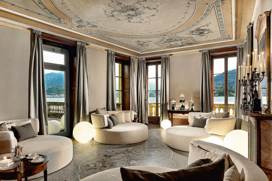 Il Grand Hotel Tremezzo sul Lago di Como: salotto