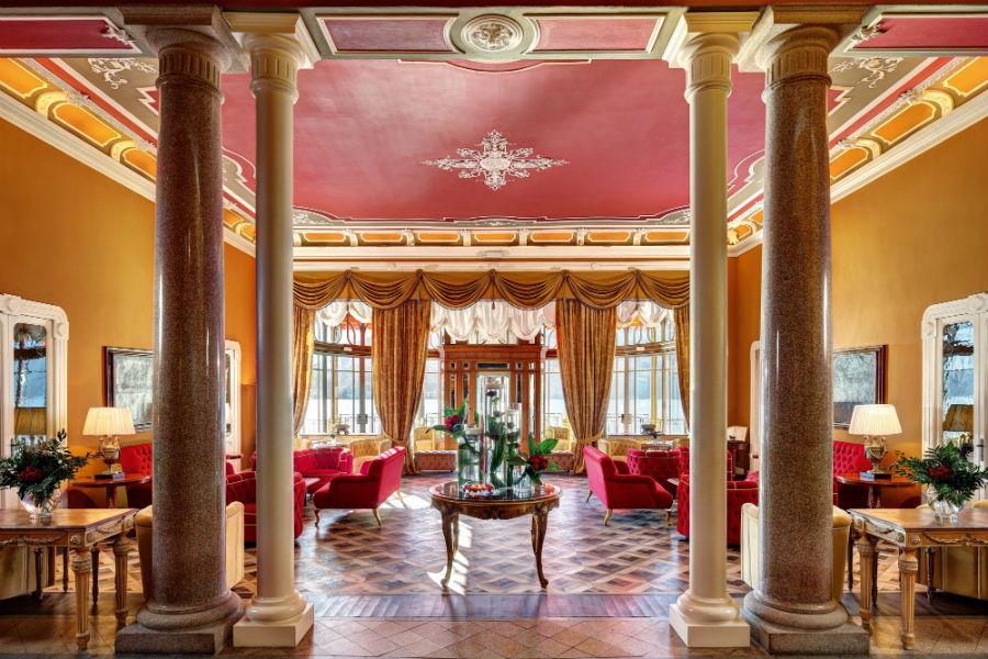 Il Grand Hotel Tremezzo sul Lago di Como: area comune