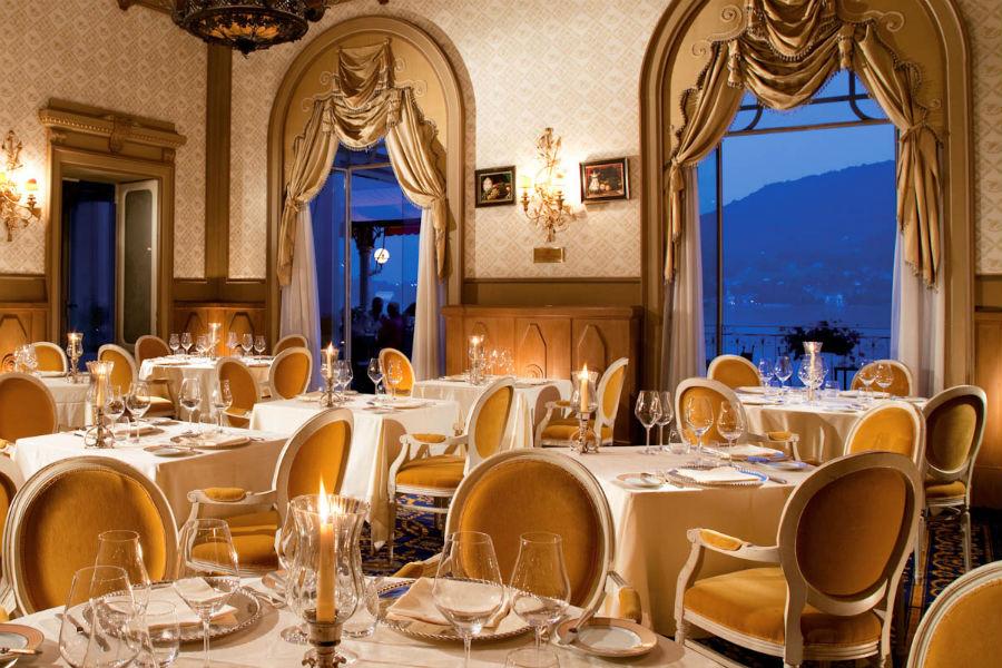 Il Grand Hotel Tremezzo sul Lago di Como: sala ristorante