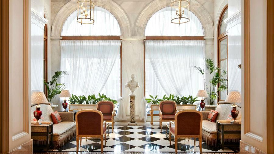 Hotel Grande Bretagne - Atene: una lussuosa aerea comune