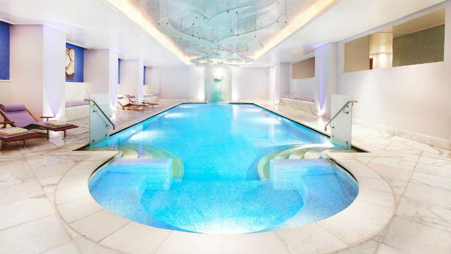 Hotel Grande Bretagne - Atene: piscina interna