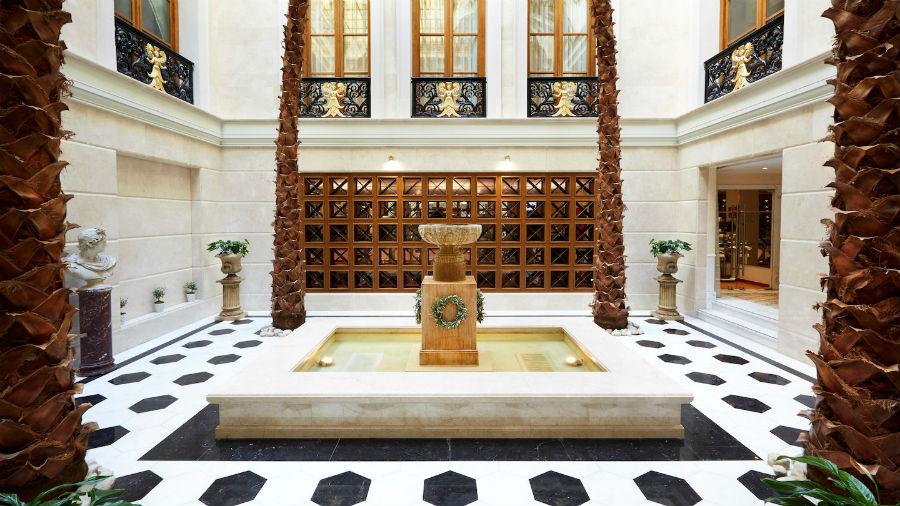 Hotel Grande Bretagne - Atene: area comune della Spa