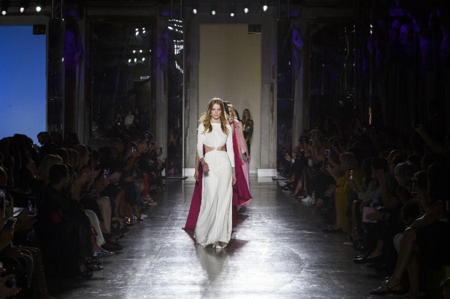 Sfilata di Luisa Spagnoli - Milano Fashion Week - collezione SS 2019