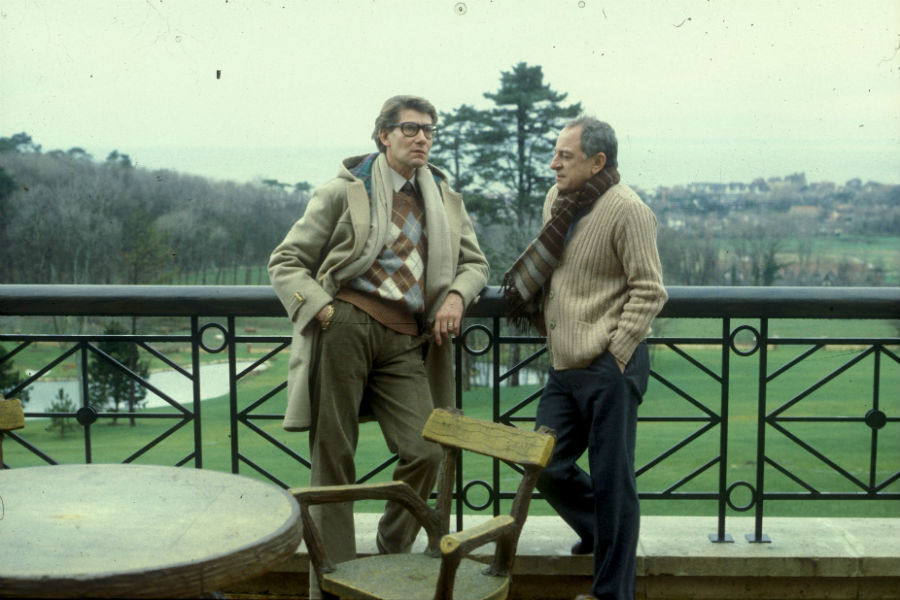 Pierre Bergé e Yves Saint Laurent