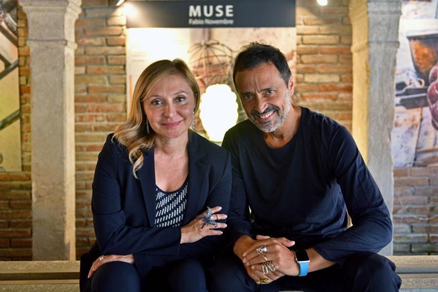 Silvia Damiani e Fabio Novembre - credits Venini