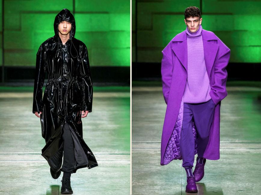 Due proposte di capispalla del brand Annakiki per la stagione autunno inverno 2018-2019
