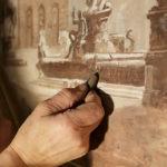 Lidiana Miotto, invenzione e maestria nel restauro di carta e cartapesta