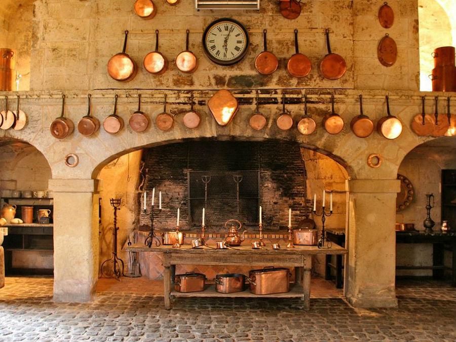 Castello di Brissac: cucine