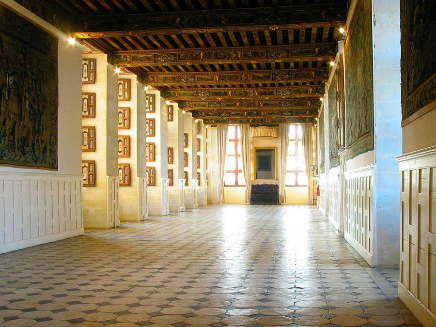 Castello di Brissac: galleria