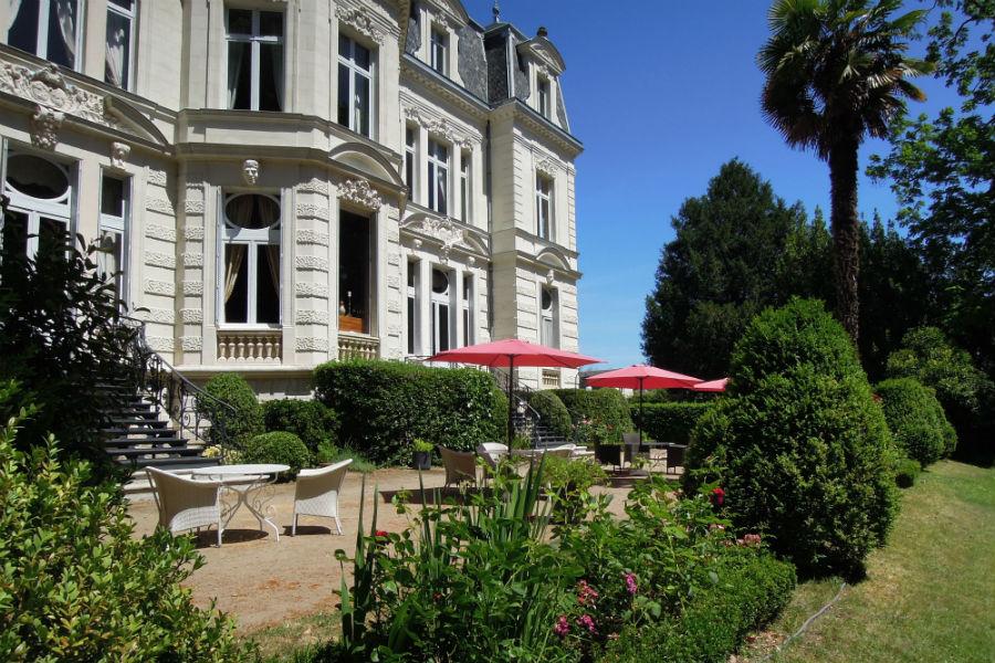 Parco dell'Hotel Castello di Verrières