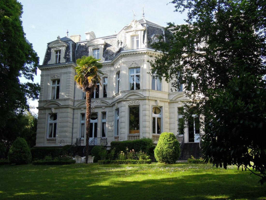 Château de Verrières - facciata principale