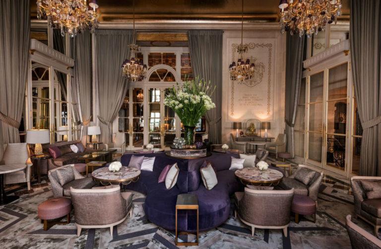 L'Hotel de Crillon, A Rosewood Hotel: lounge