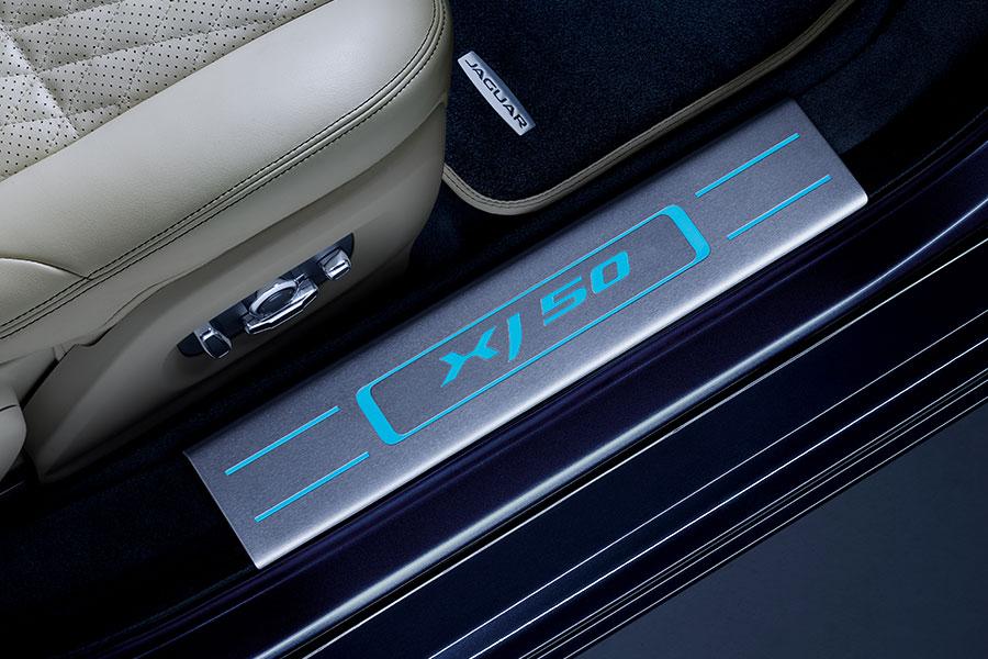 Interni della nuova Jaguar XJ50