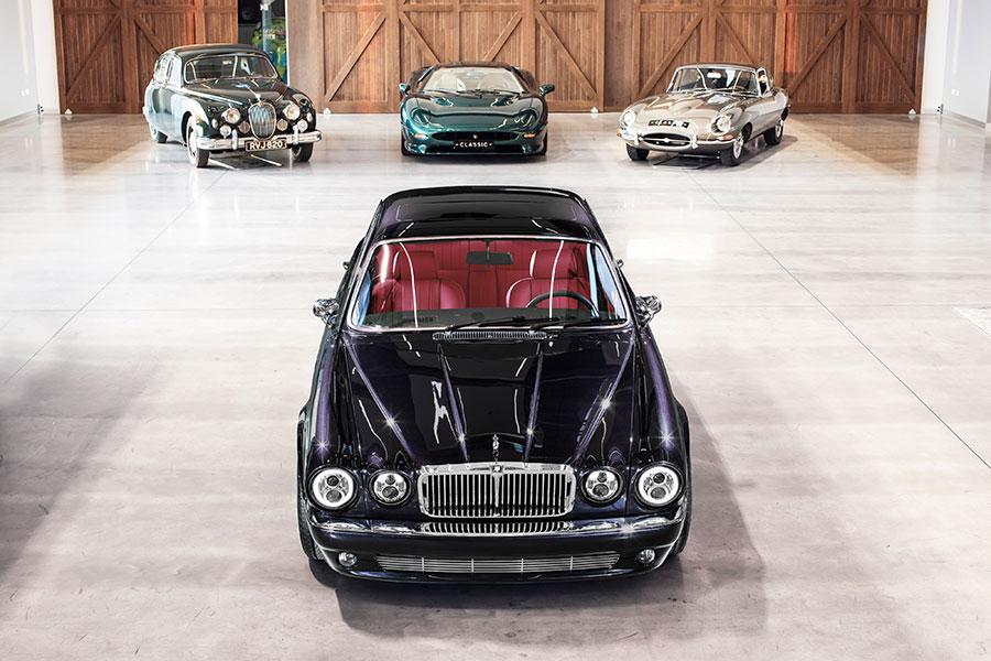 "La Jaguar XJ ""Greatest Hits"" creata per Nicko McBrain"