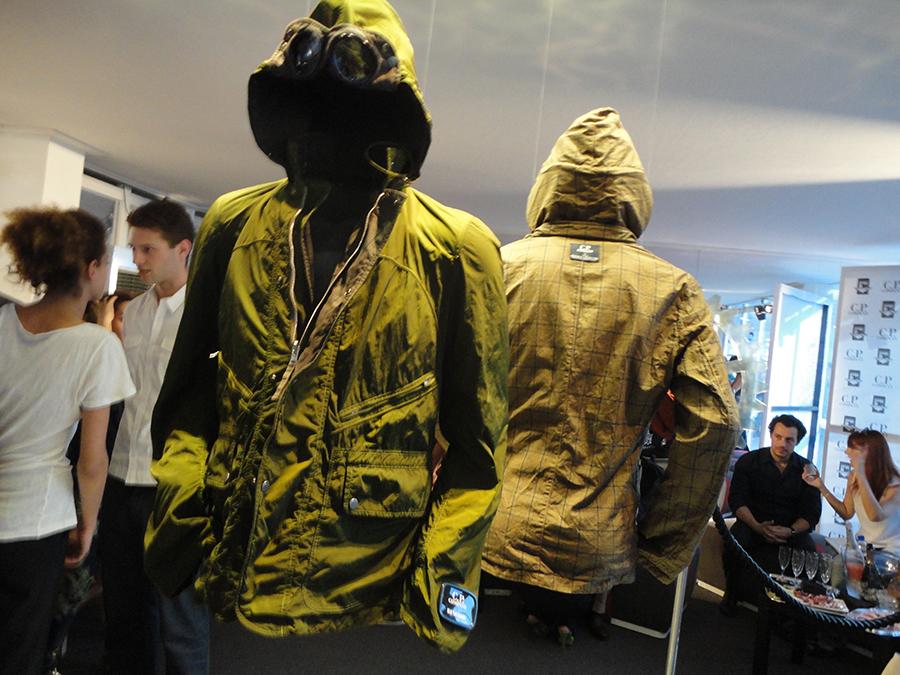 moda uomo invernale stagione 2018-2019: nell'immagine capi di abbigliamento C.P. Company