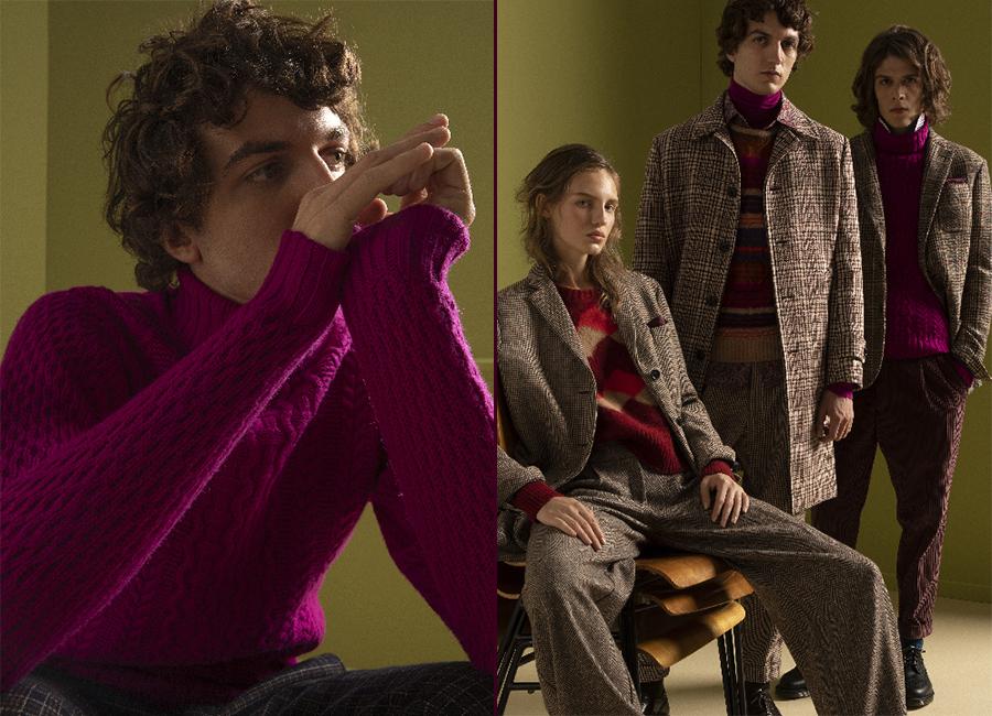 moda uomo invernale stagione 2018-2019: nell'immagine capi di abbigliamento Drumhor