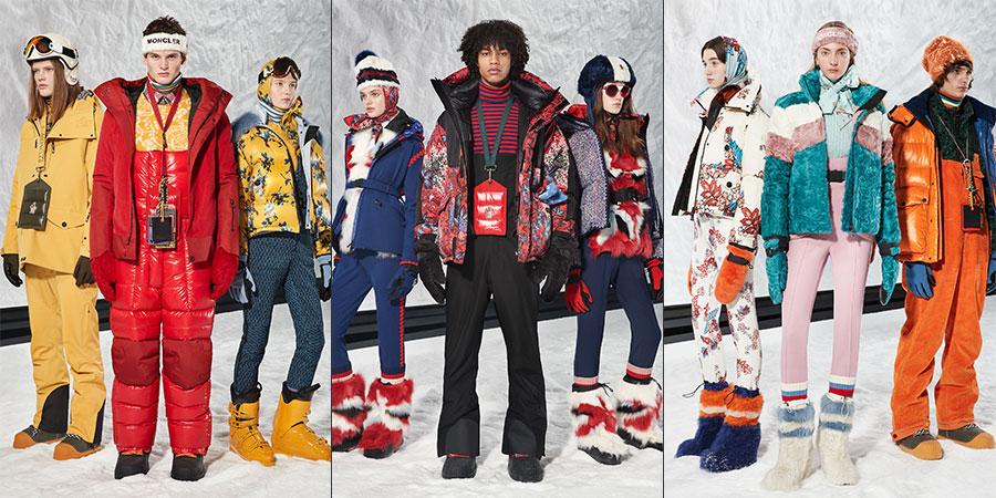 moda uomo invernale stagione 2018-2019: nell'immagine capi di abbigliamento Moncler