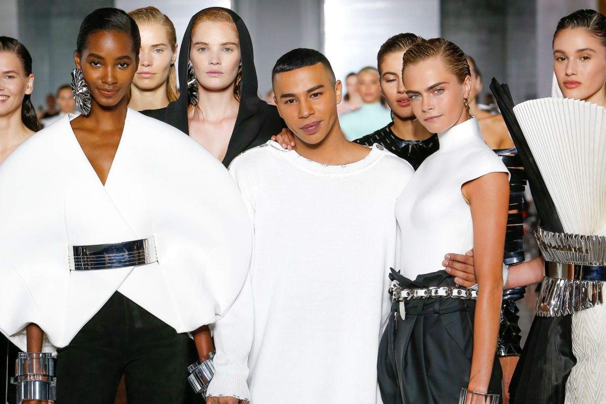Paris Fashion Week 2018 - chiusura sfilata SS 2019 di Balmain