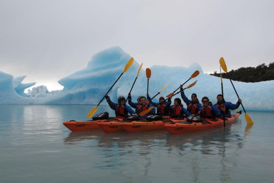 Relais & Chateaux - il resort Eolo per scoprire la Patagonia: nell'immagine, attività di escursionismo in kayak
