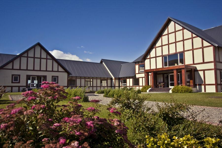 Relais & Chateaux - il resort Eolo per scoprire la Patagonia: Il giardino interno del resort