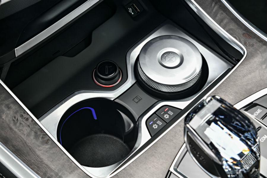 Il portavivande della nuova BMW X5