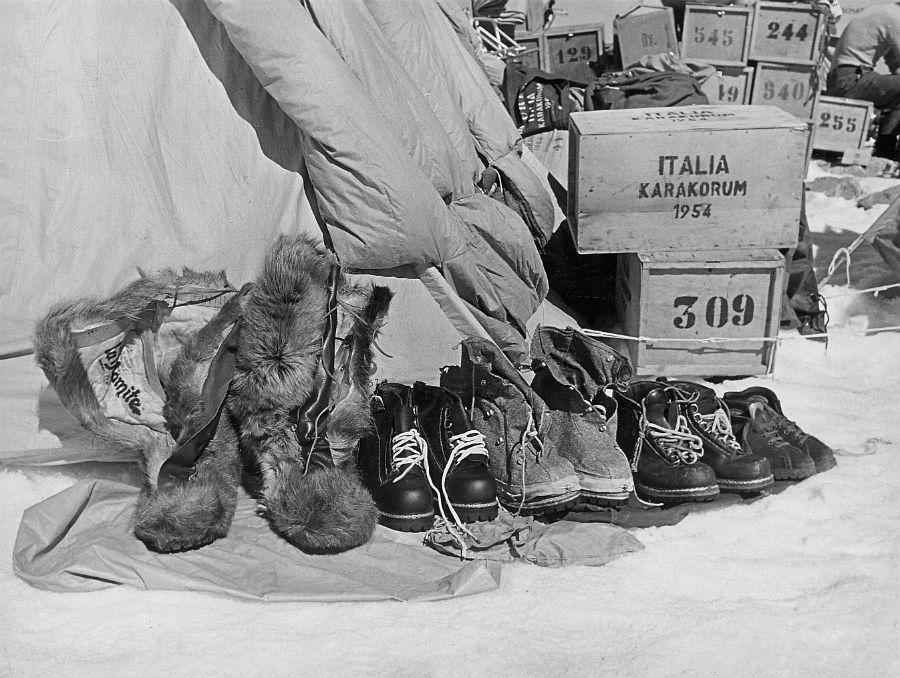Capitani Coraggiosi. L'avventura umana della scoperta (1906-1990) - Mudec, Milano: Campo base.SpedizioneItalia- Karakorum1954@MuseodellaMontagnaCAITorino