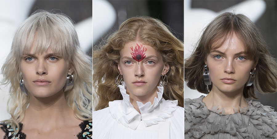 Louis Vuitton Cruise 2019 - tre esempi di make up utilizzato
