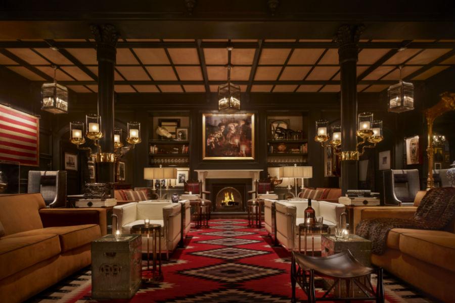 Hotel Jerome - Aspen: ambiente interno