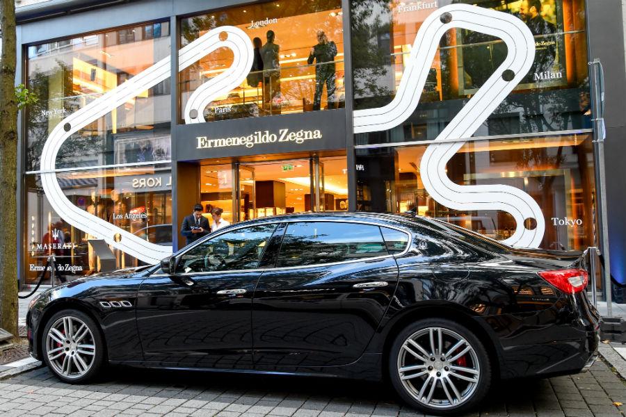 La Maserati Capsule Collection by Ermenegildo Zegna