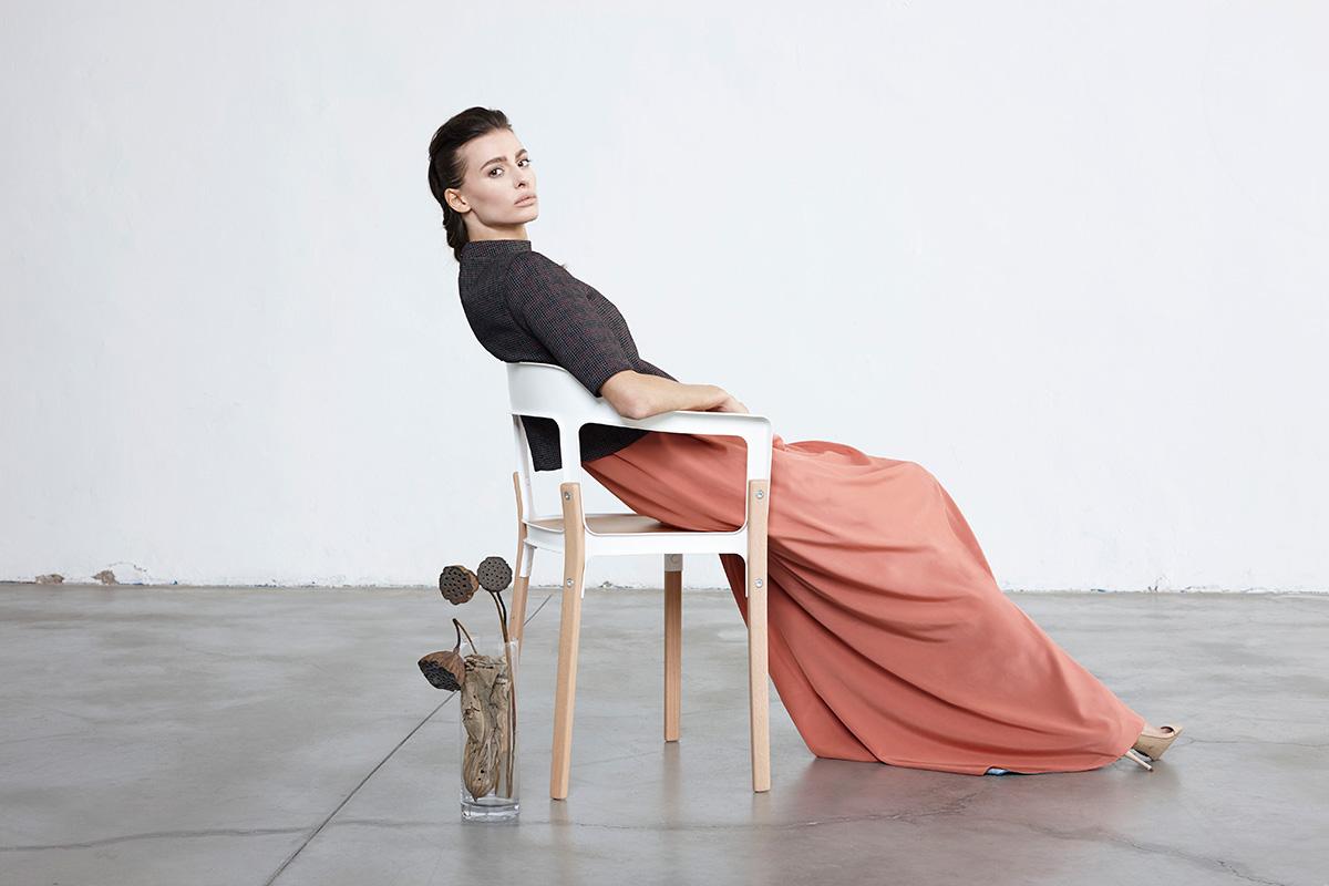 Moda etica: nell'immagine un capo di abbigliamento ecosostenibile di Bav Tailor FW 2018/2019